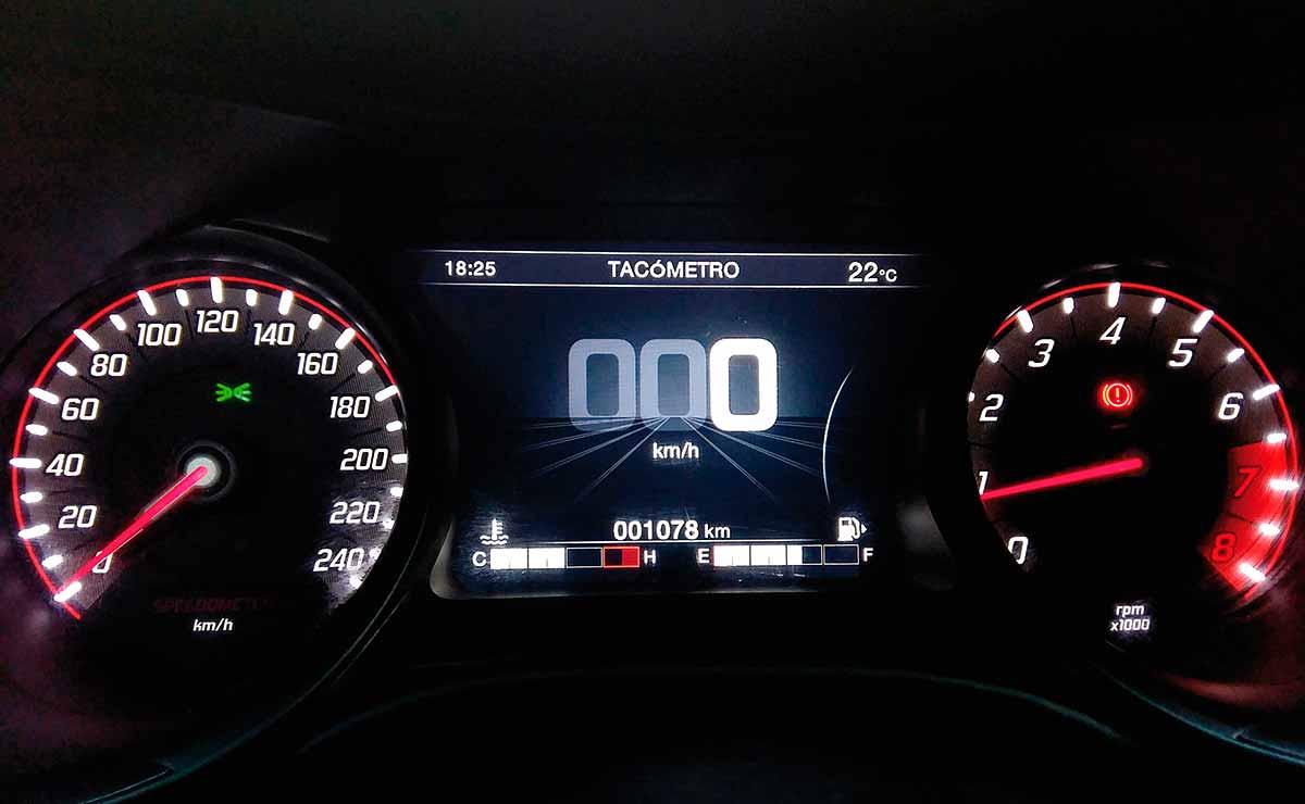 Fiat Argo precision pantalla