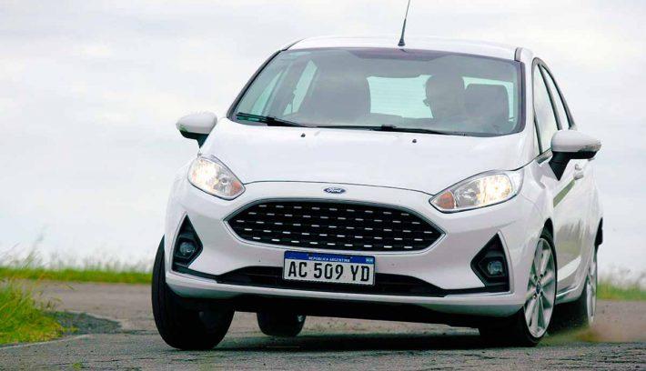 Ford Fiesta SE Plus frente