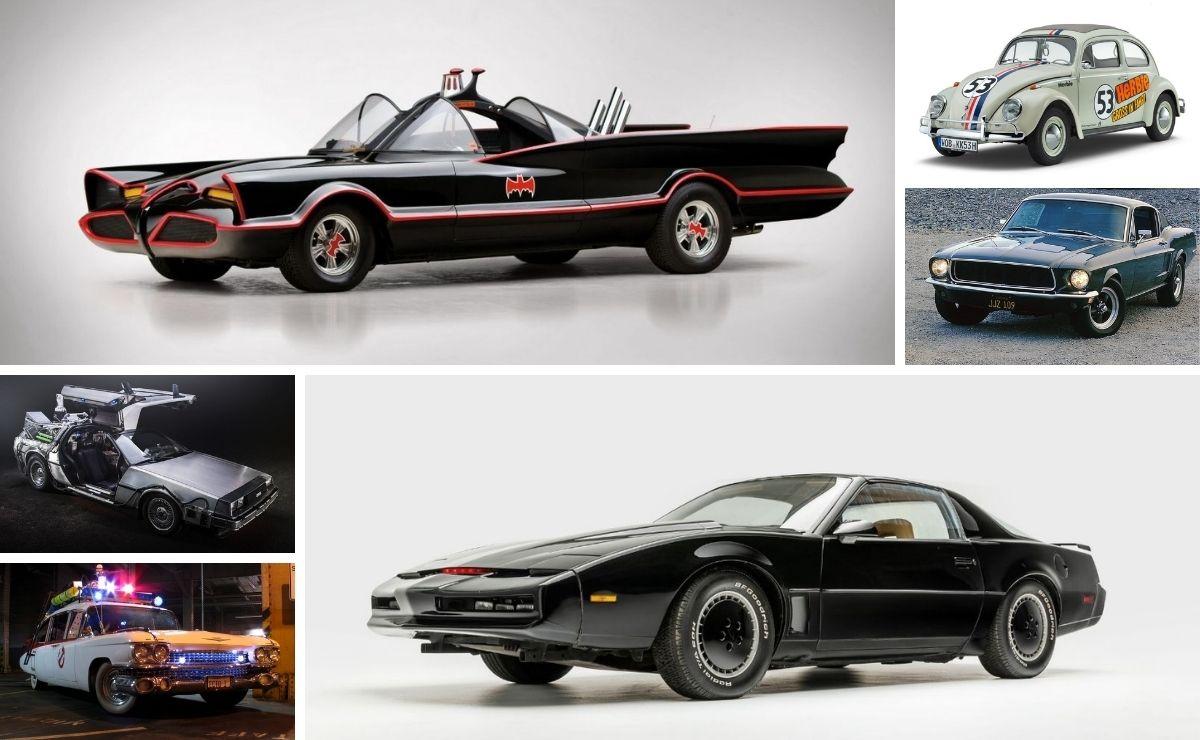 Los autos de película más famosos