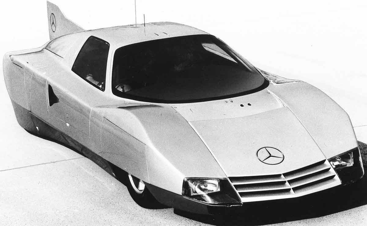 Mercedes record velocidad