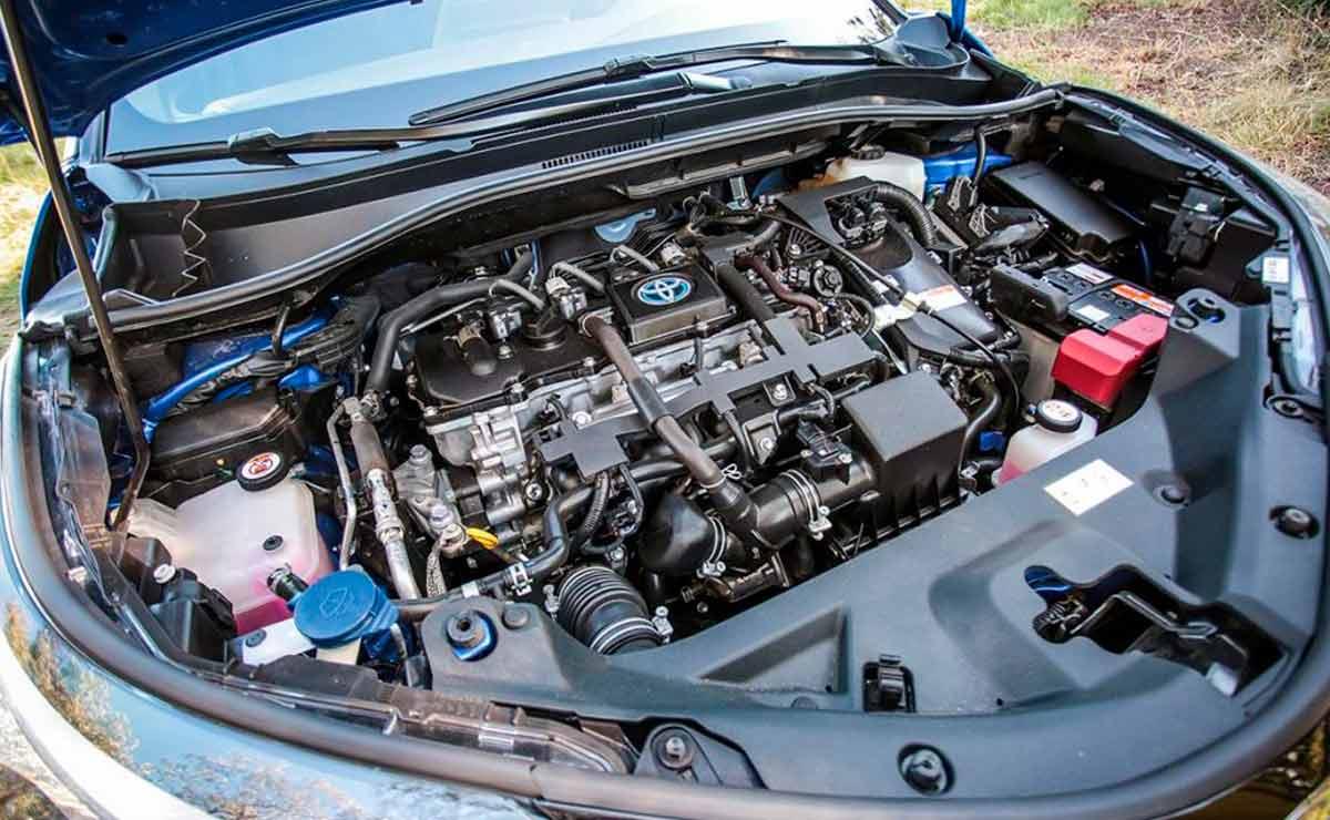 Toyota-C-HR-motor
