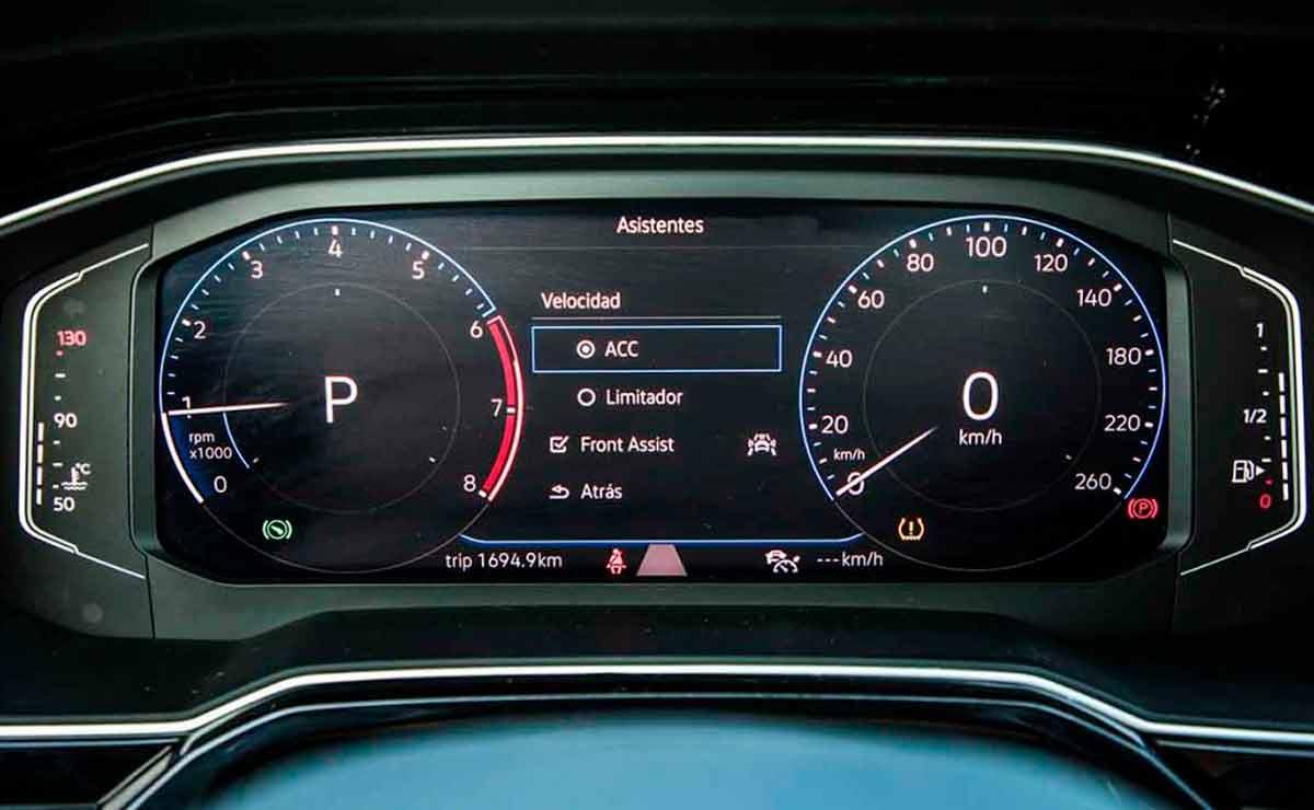 Volkswagen-Nivus-tablero