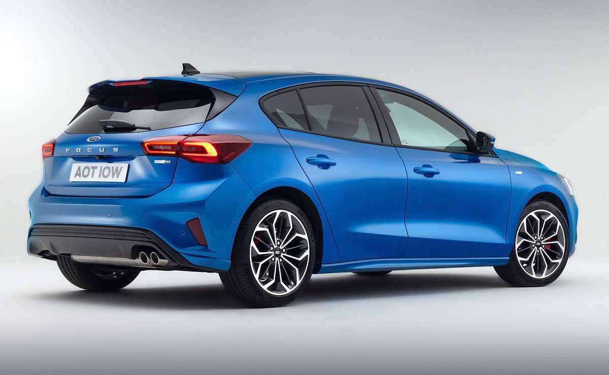 FORD FOCUS 2022 TRASERA