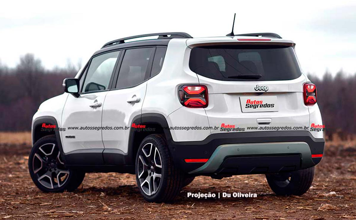 jeep renegade 2023 cola