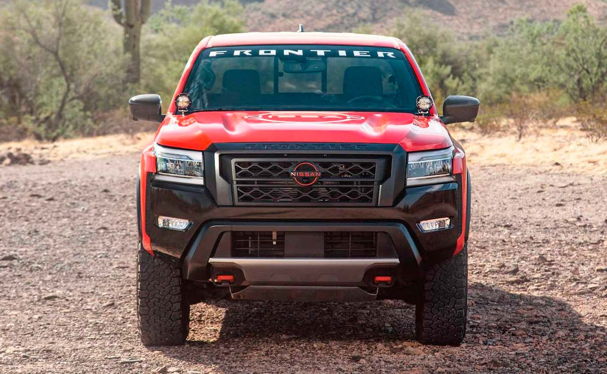NISSAN FRONTIER RALLY TROMPA
